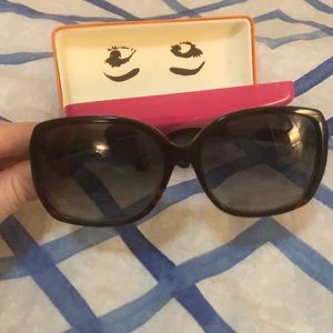 Kate Spade sunglasses -dark brown/ tortoise shell